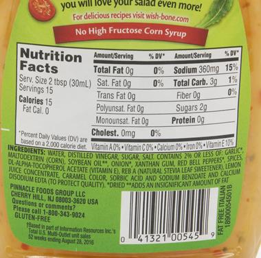 Caesar Dressing Nutrition Facts Nutrition Ftempo