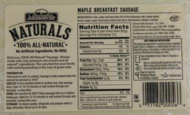 plain bagel label with Johnsonville Maple Sausage Nutrition Facts 2 on Nutritional Information On Avocados furthermore Trader Joes Bagels No Longer Vegan additionally My New Favorite Thing further Buffalo Wild Wings Nutrition Mac And Cheese further Plain Bagels.